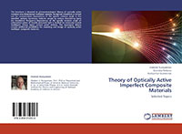 Theory of optically active imperfect composite materials cover